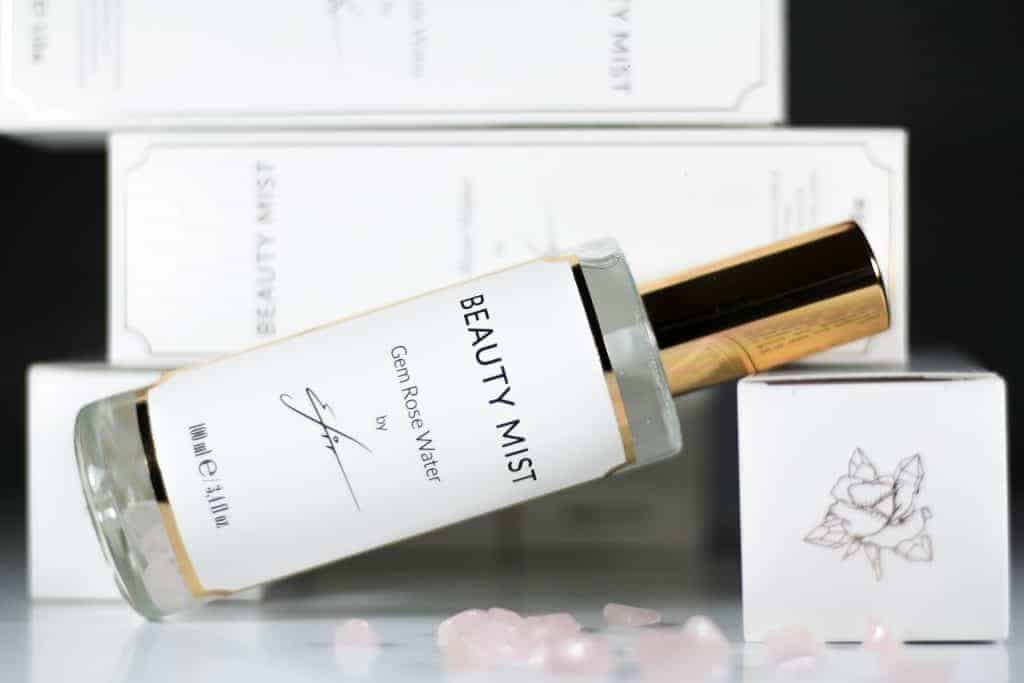 Efir Beauty Mist - Розова вода с кристали розов кварц от Ефир