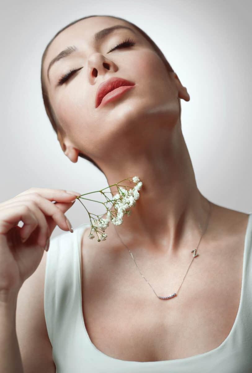"""Колие с диаманти от Ефир - колекция """"9 Месеца"""""""
